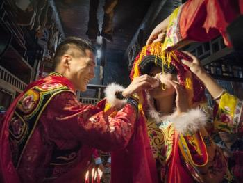 羌寨婚礼08