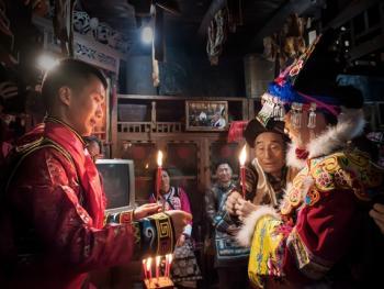 羌寨婚礼09