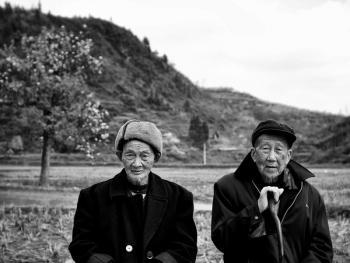 武陵山区的老人