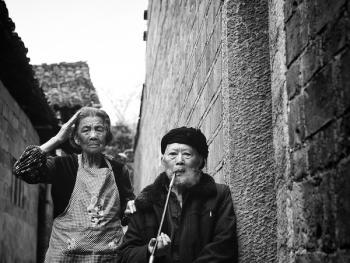 武陵山区的老人05