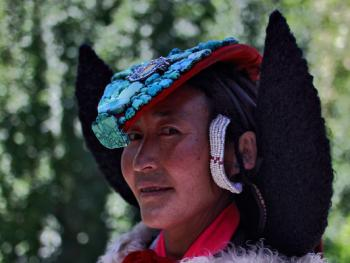 拉达克妇女的服饰2