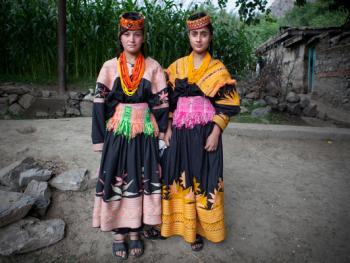 巴基斯坦卡拉什女人的服饰04