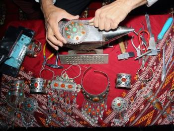 土库曼斯坦的珠宝镶嵌工艺03