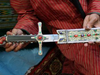 土库曼斯坦的珠宝镶嵌工艺06