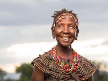 肯尼亚部落人像10