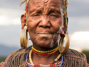 肯尼亚部落人像11