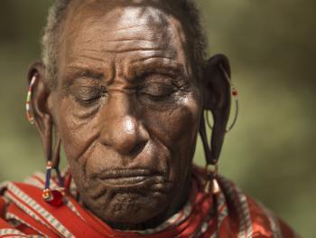 肯尼亚部落人像12