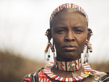 肯尼亚部落人像14