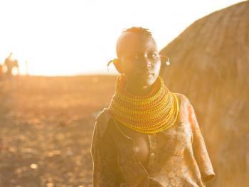 肯尼亚部落人像