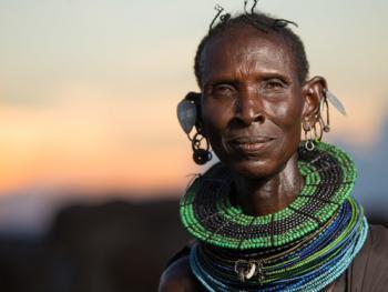 肯尼亚部落人像03