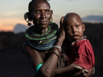 肯尼亚部落人像04