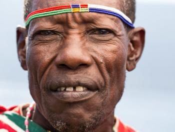 肯尼亚部落人像06