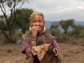 肯尼亚部落人像07