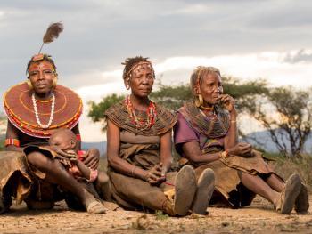 肯尼亚部落人像08