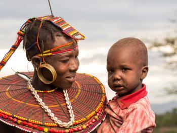 肯尼亚部落人像09
