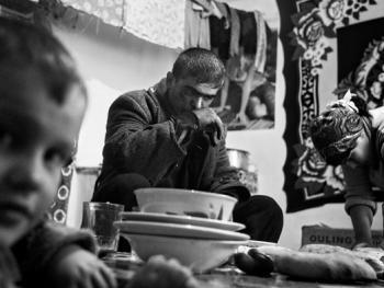 吉尔吉斯斯坦非法煤矿中的矿工11