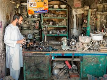 阿富汗传统手工艺09