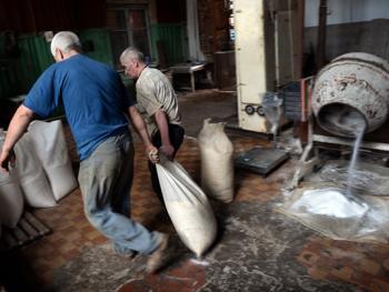 乌克兰东部的井盐生产10