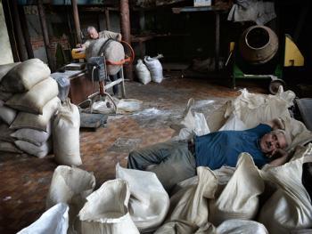 乌克兰东部的井盐生产12