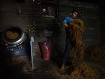 土耳其传统家庭烟草生产13
