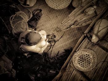 阿联酋人的编织手工艺