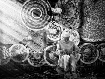 阿联酋人的编织手工艺3