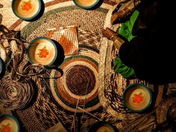 阿联酋人的编织手工艺4