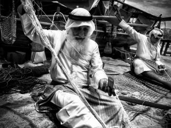 阿联酋人的编织手工艺5
