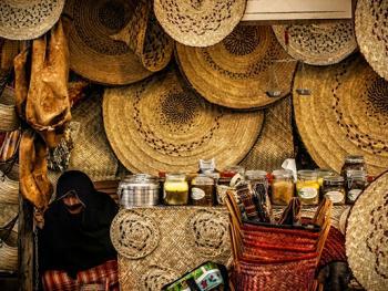 阿联酋人的编织手工艺6