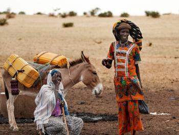 尼日尔干旱地区人畜用水方式09
