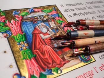 意大利抄写艺术12