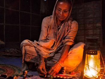西孟加拉邦妇女的黄麻工艺小组05