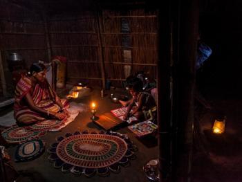 西孟加拉邦妇女的黄麻工艺小组09
