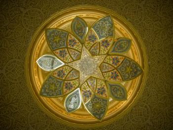 扎耶德大清真寺的精致内饰10