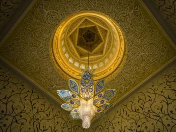 扎耶德大清真寺的精致内饰02