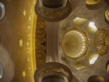 扎耶德大清真寺的精致内饰09