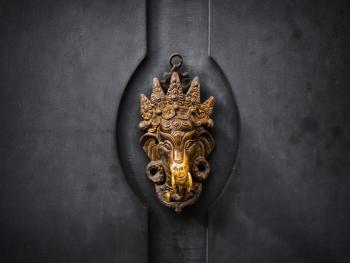 欧式建筑的门把手10