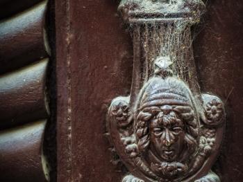 欧式建筑的门把手09