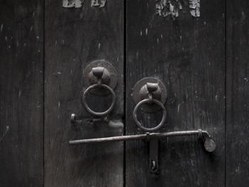 江南传统民居的门环01