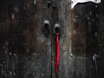 江南传统民居的门环07