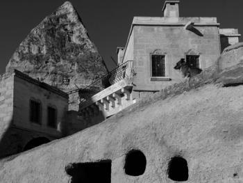 卡帕多西亚的岩洞建筑2
