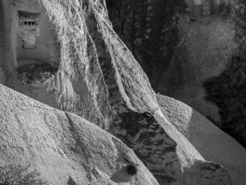 卡帕多西亚的岩洞建筑3