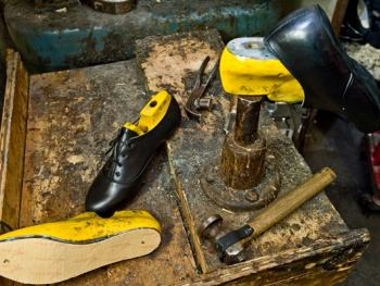 爱尔兰传统舞鞋制作14