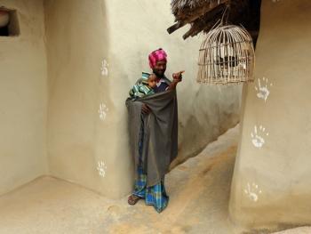 纳亚村的外墙绘画10