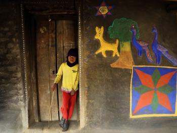 纳亚村的外墙绘画08