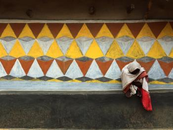 纳亚村的外墙绘画09