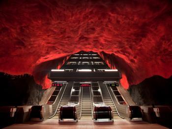 斯德哥尔摩地铁站