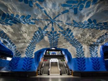 斯德哥尔摩地铁站02
