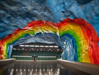 斯德哥尔摩地铁站06