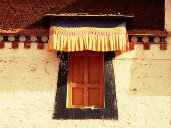 阿坝寺庙的窗户04